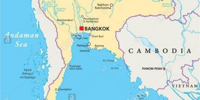 Thailand Karte Welt.Bangkok Karte Maps Bangkok Thailand