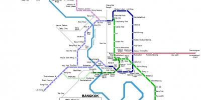 Thailand Karte.Bangkok Karte Maps Bangkok Thailand
