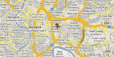 Bangkok Karte.Bangkok Karte Maps Bangkok Thailand